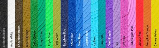 foam colors