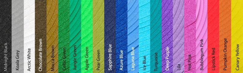 foam kleuren