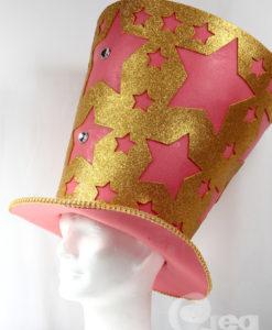 foam hoed glitter