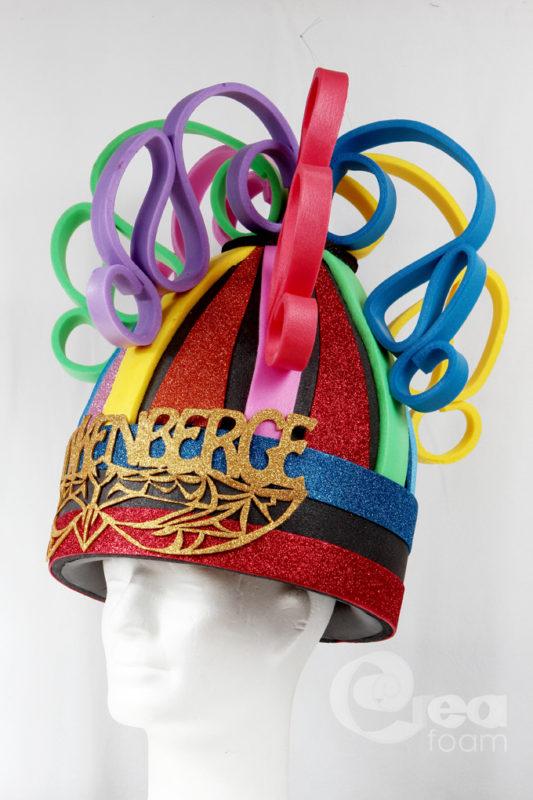 foam hoed glitterfoam